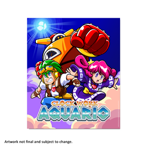 Clockwork Aquario (Art Card) - aluminium plate