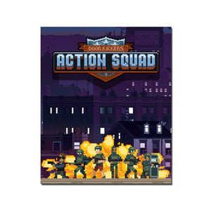 Door Kickers: Action Squad (Art Card) - aluminium plate