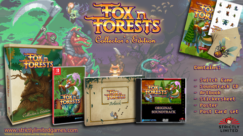 Fox N Forests Collector's Edition (Nintendo Switch)