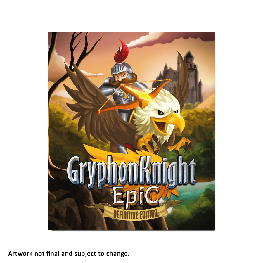Gryphon Knight Epic: Definitive Edition - aluminium plate