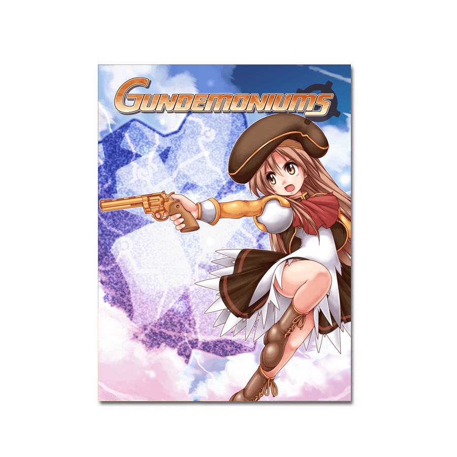 Gundemoniums (Art Card) - aluminium plate