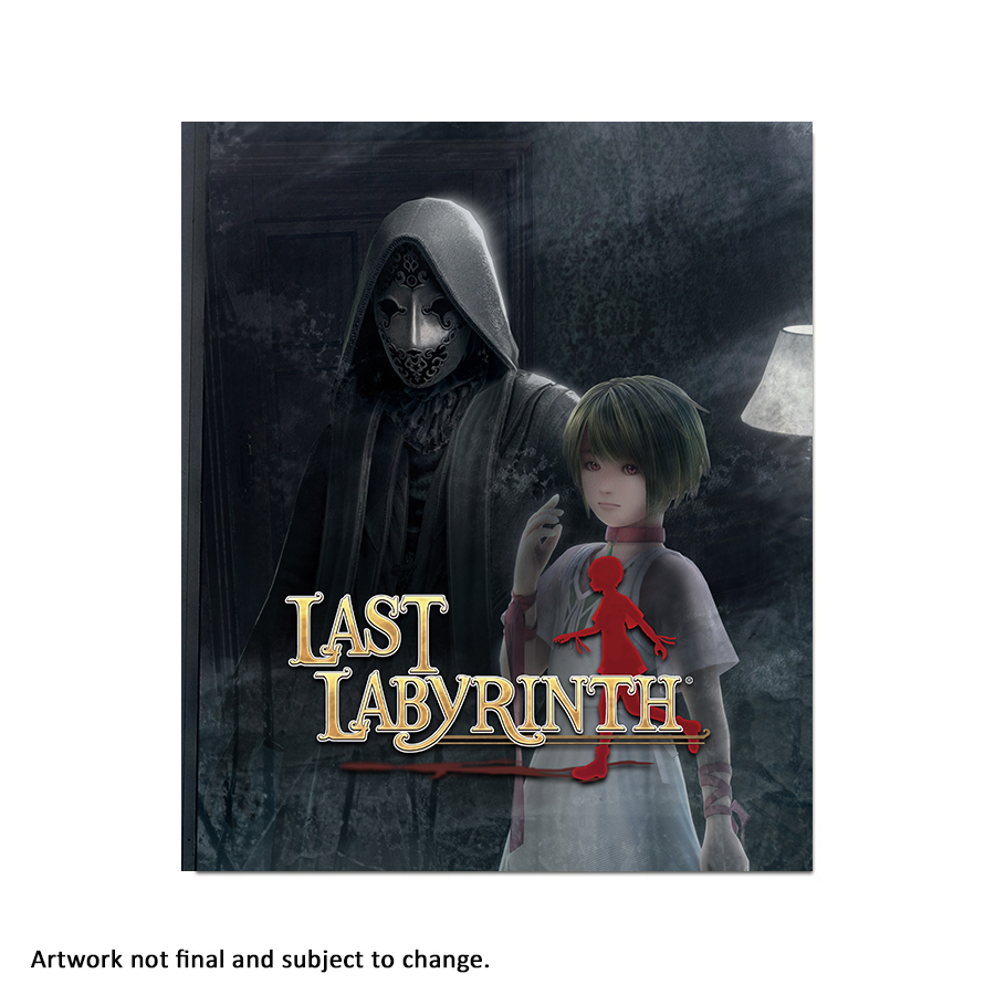 Last Labyrinth (Art Card) - aluminium plate