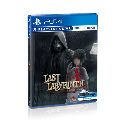 Last Labyrinth Collector's Edition (PS4) - Preorder