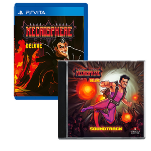 Necrosphere Deluxe Soundtrack Bundle (PS Vita)