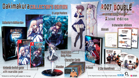 Root Double Dakimakura Collector's Edition (NSW) - Preorder