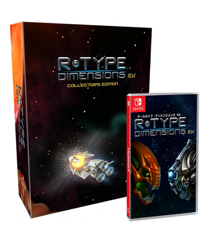 R-Type Dimensions EX Collector's Edition (Nintendo Switch) - Preorder