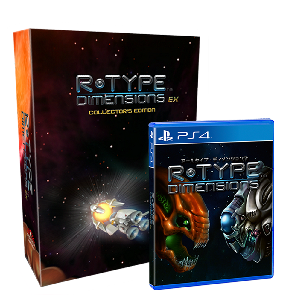 R-Type Dimensions EX Collector's Edition (PS4) - Preorder