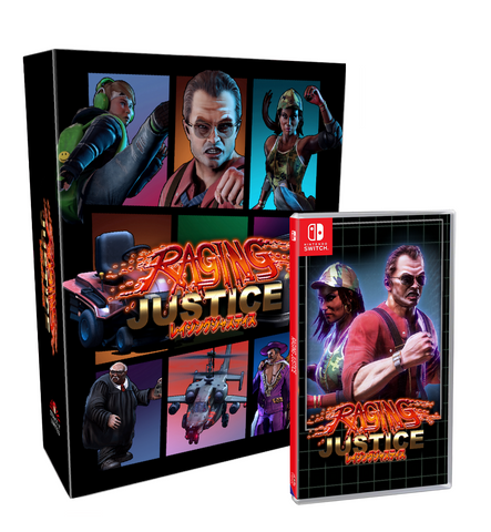 Raging Justice Collector's Edition (Nintendo Switch) - Preorder