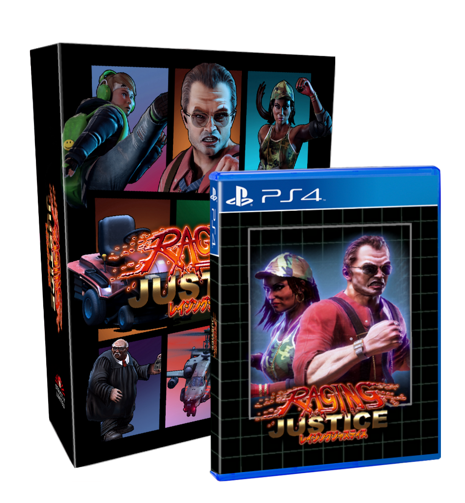 Raging Justice Collector's Edition (PS4) - Preorder