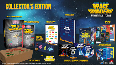 Space Invaders Invincible Collection Collector's Edition (NSW) - Preorder