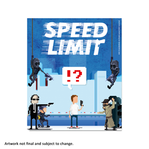 Speed Limit (Art Card) - aluminium plate