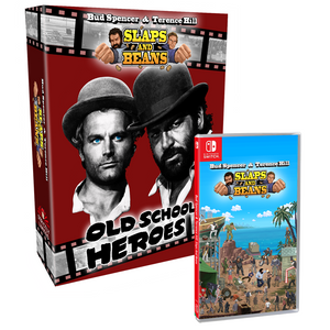 Bud Spencer & Terence Hill Oldschool Heroes Edition (Nintendo Switch) - Preorder