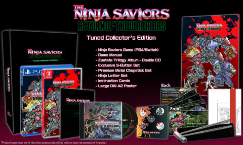 The Ninja Saviors: RotW Tuned Collector's Edition (PS4) - Preorder