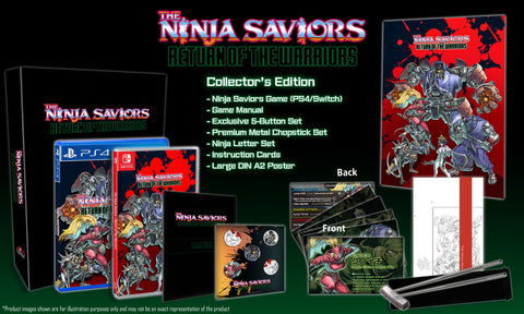 The Ninja Saviors: RotW Collector's Edition (PS4) - Preorder
