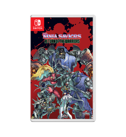 The Ninja Saviors: Return of the Warriors (Nintendo Switch) - Preorder