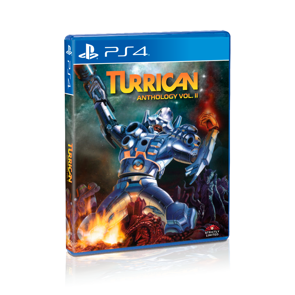 Turrican Anthology Vol. 2 (PS4) - Preorder