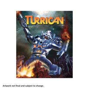 Turrican (Anthology) - aluminium plate