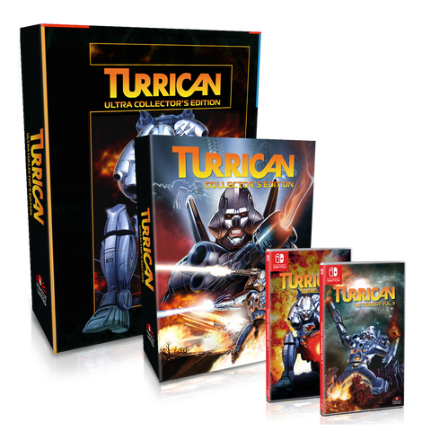 Turrican Ultra Collector's Edition (NSW) - Preorder
