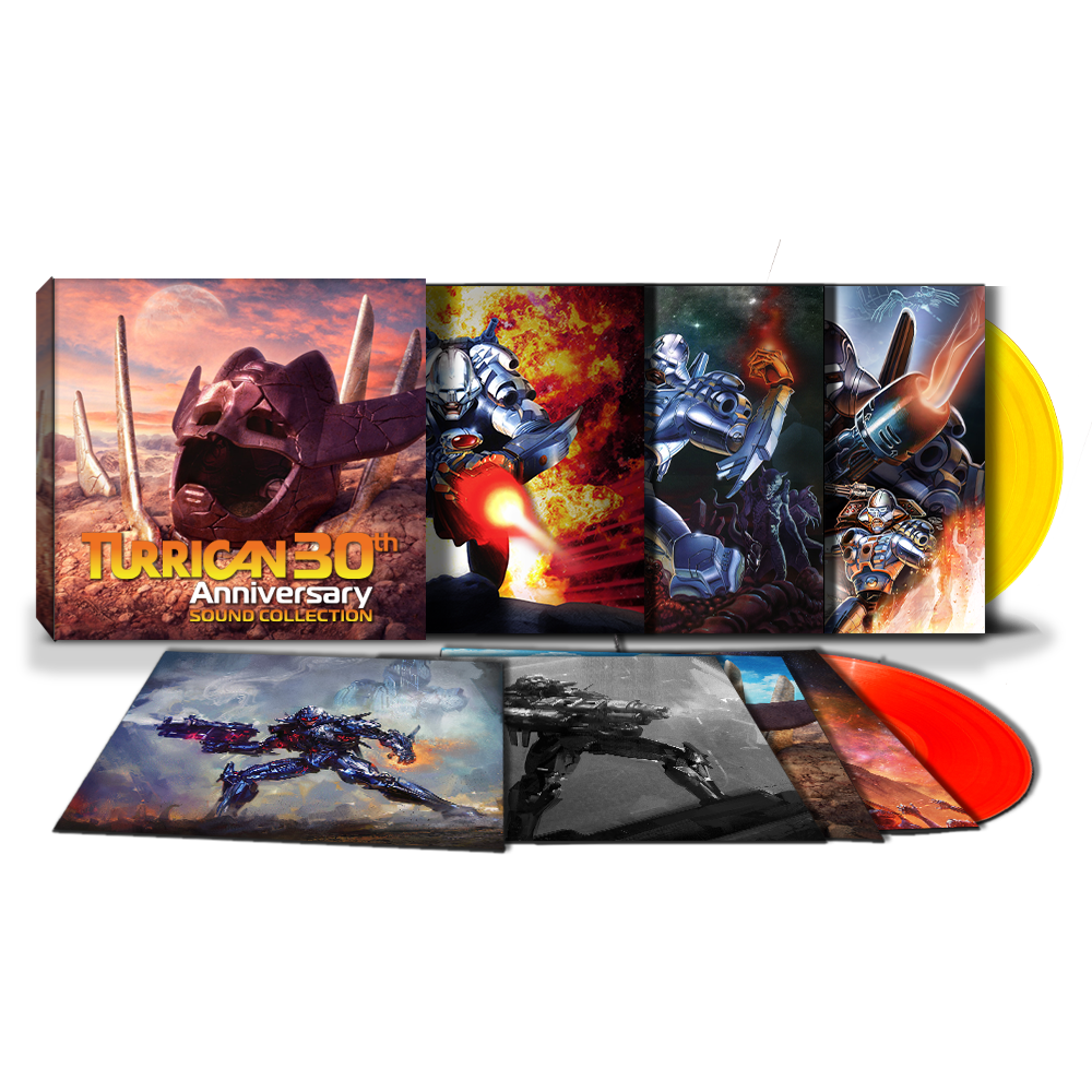 Turrican 30th Anniversary Sound Collection (7 LPs) - Preorder