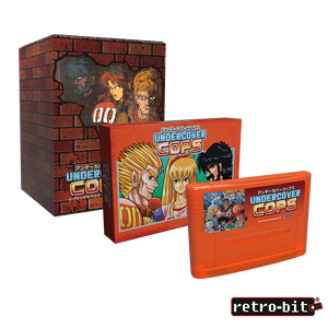 Undercover Cops Collector's Edition (SNES) - PREORDER
