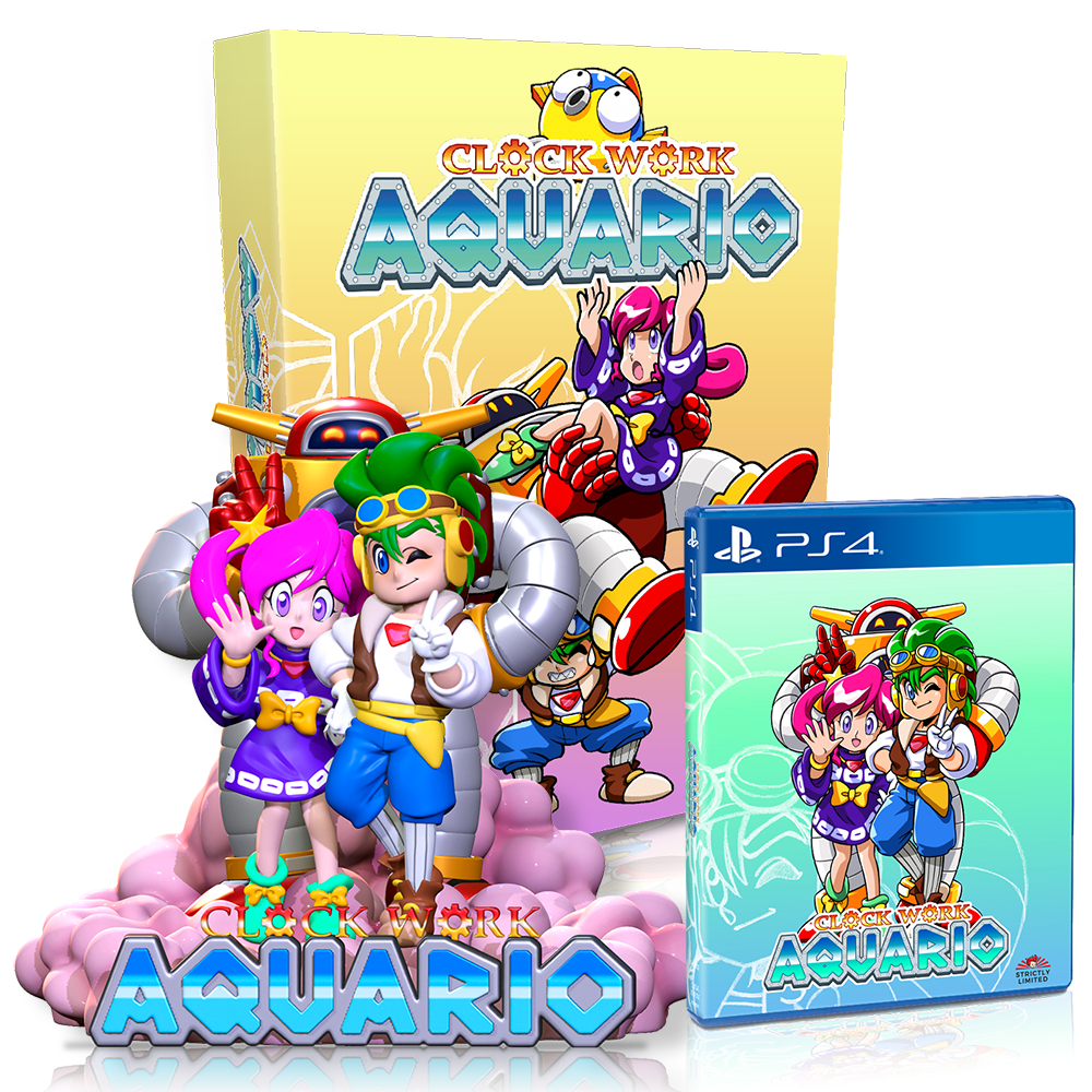 Clockwork Aquario Ultra Collector's Edition (PS4) - Preorder