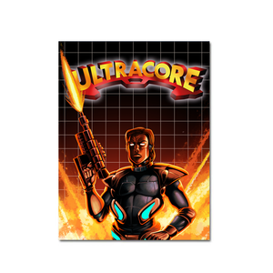 Ultracore (Art Card #1) - aluminium plate