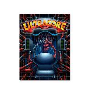 Ultracore (Art Card #2) - aluminium plate