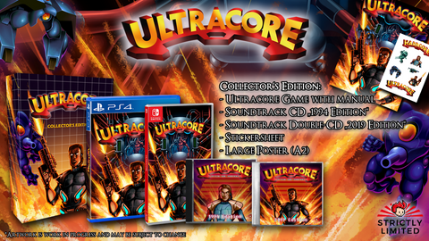 Ultracore Collector's Edition (PS4) - Preorder