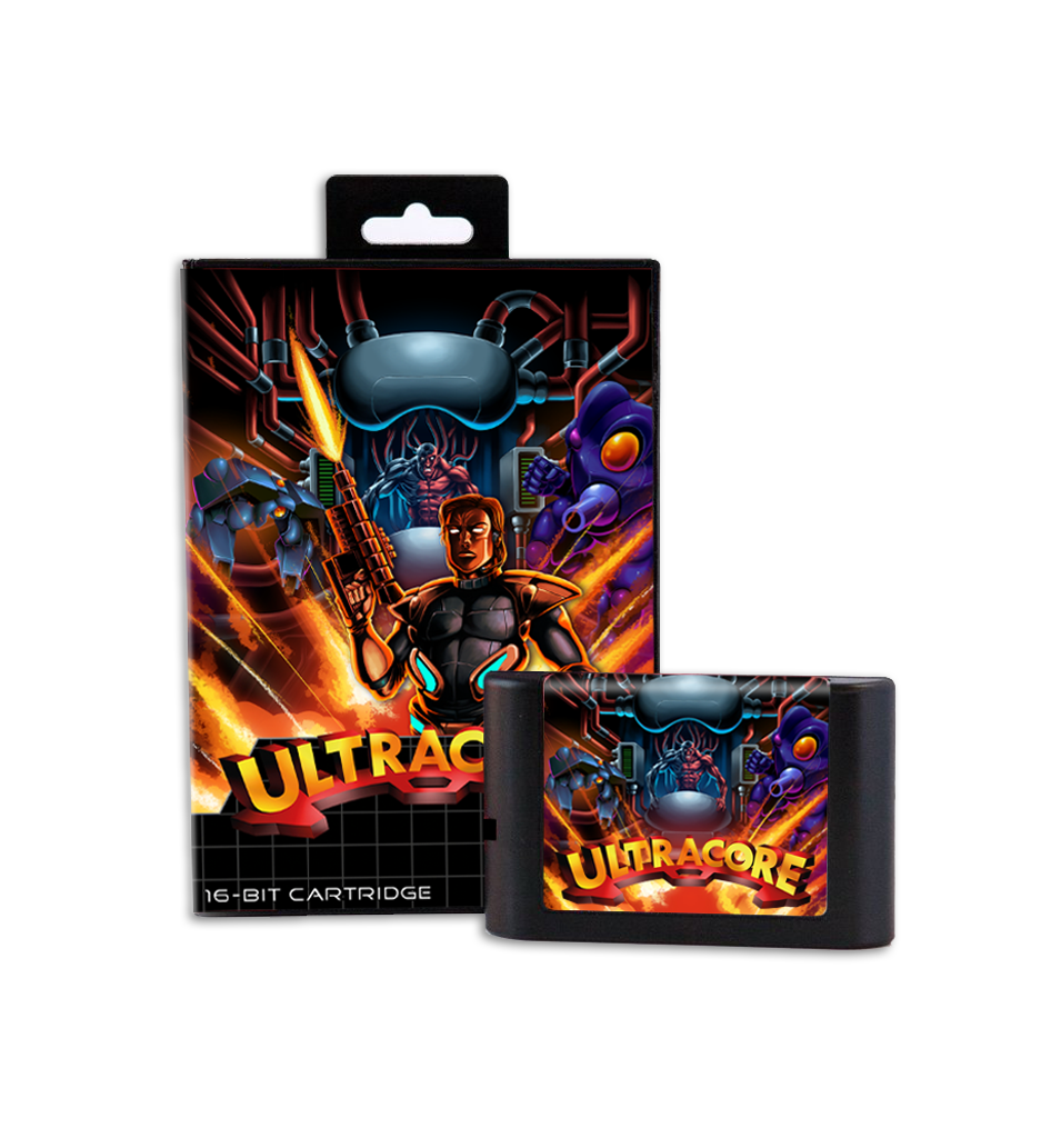 Ultracore (Mega Drive Game) - Preorder