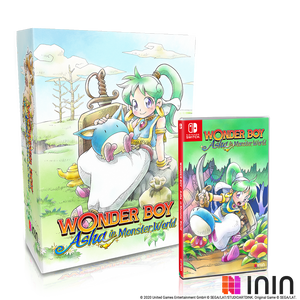 Wonder Boy: Asha in Monster World Collector's Edition (NSW) - Preorder