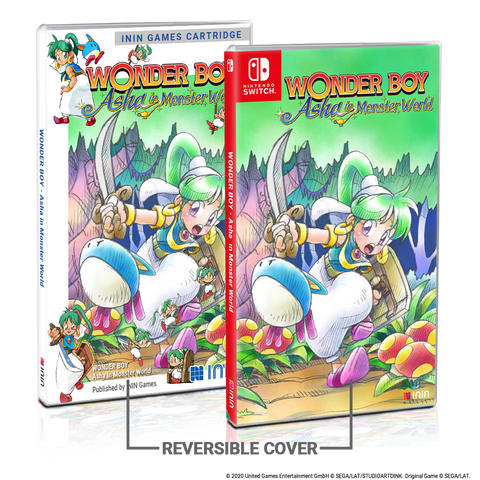 Wonder Boy: Asha in Monster World (NSW) - Preorder
