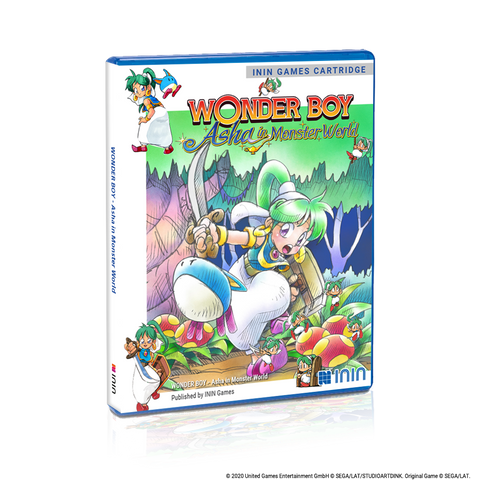 Wonder Boy: Asha in Monster World (PS4) - Preorder