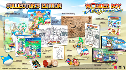 Wonder Boy: Asha in Monster World Collector's Edition (PS4) - Preorder