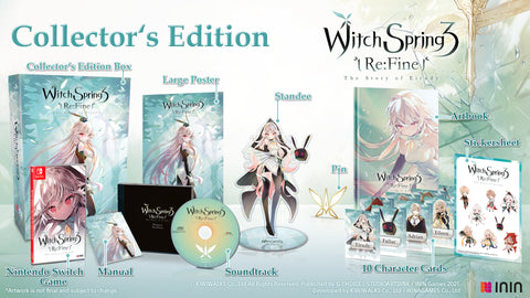 WitchSpring3 Re:fine - The Story of Eirudy Collector's Edition (NSW) - Preorder