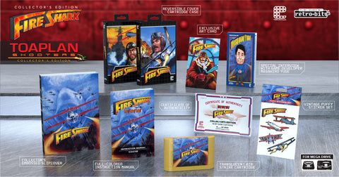 Fire Shark Collector's Edition (Genesis/Mega Drive) - Preorder