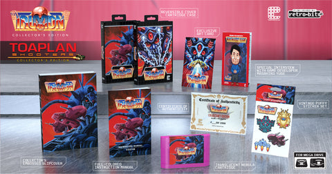 Complete Toaplan Shooters Collector's Edition (Genesis/Mega Drive) - Preorder