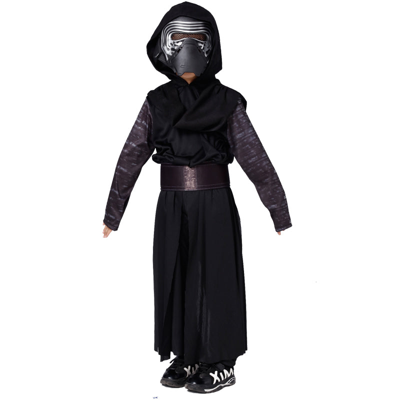 Boys Star Wars The Force Awakens Kylo Ren Cosplay Costume