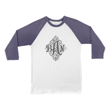 Monogram Custom Baseball shirt for women & girls