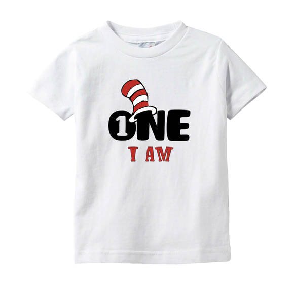 Infant Birthday Tee - One I Am