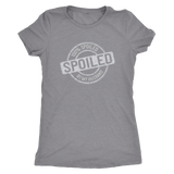 100% spoiled by my husband - women's shirt