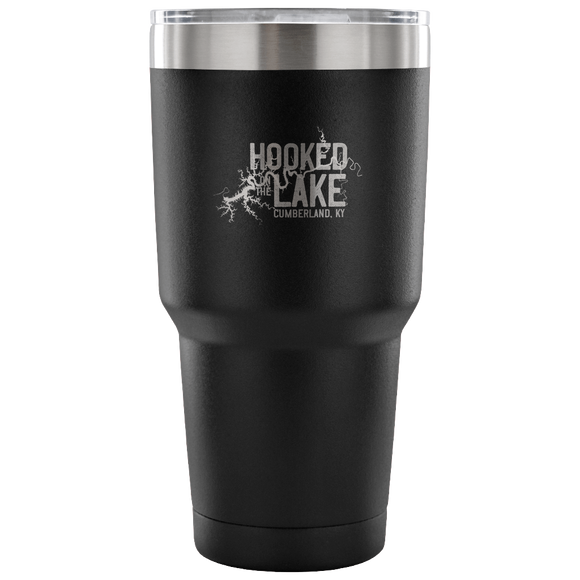 Hooked On The Lake - Lake Cumberland KY Coffee Travel Mug drinkware
