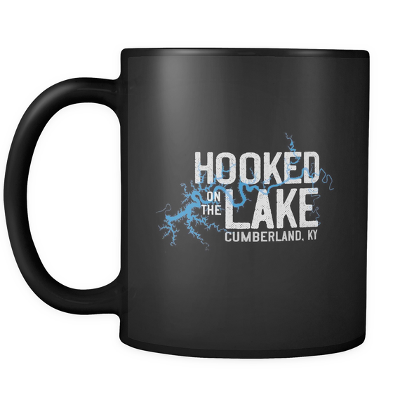 Hooked On The Lake - Lake Cumberland KY Coffee Mug drinkware