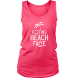 Resting Beach Face - funny shirt for women