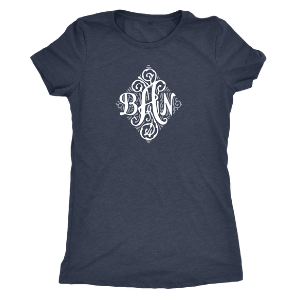 Monogram Custom order shirts - for women and girls - Next Level Brand