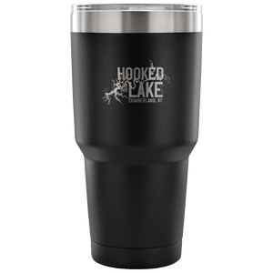 Hooked On The Lake - Lake Cumberland KY Travel Mug drinkware