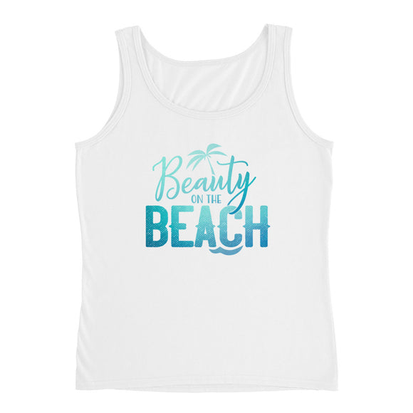 Beach Wear - Beauty on the Beach Tank Top for women