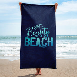 Beach Towel - Beauty on the Beach - bath towel