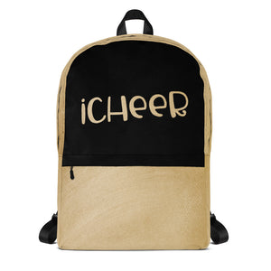 Cheerleader Backpack iCheer Laptop Bag Tote School