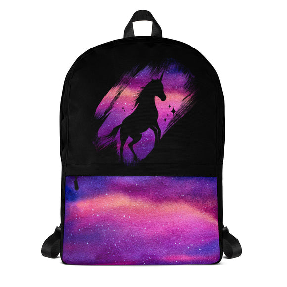 Unicorn Backpack - back to school bag - unicorn galaxy