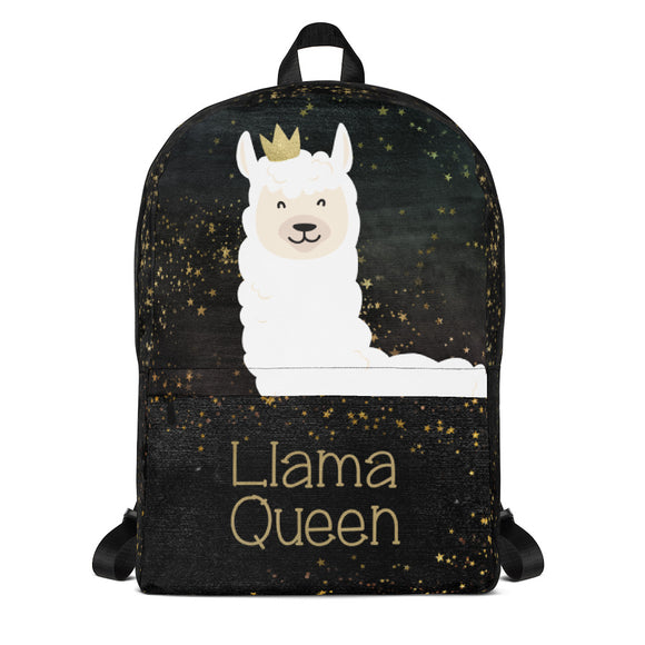 Llama Backpack - Back to school accessories - Llama Queen Laptop bag